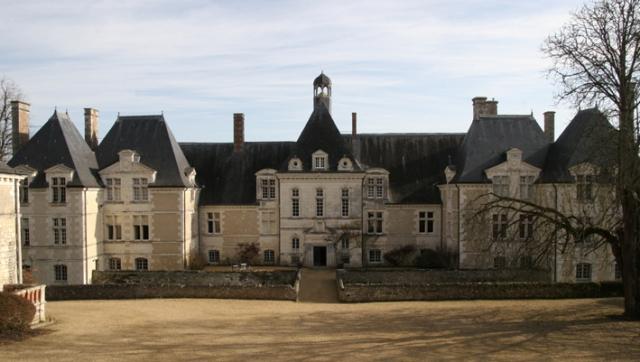 Château de Marcilly-sur-Maulne