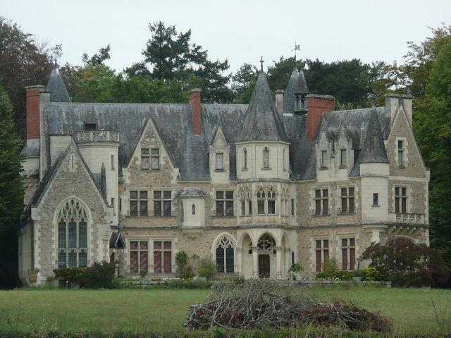 Château de Montivert (Le Vieil-Baugé)
